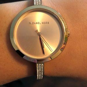 MK Michael Kors Rose Gold Watch